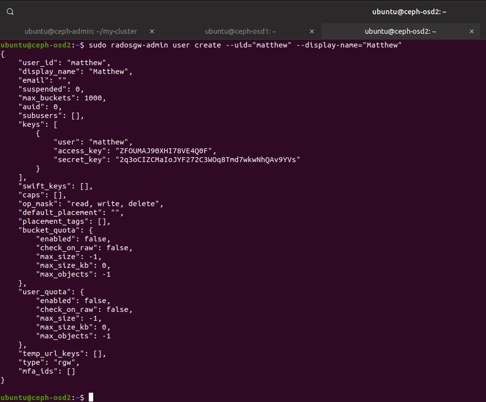 Deploying a Ceph Cluster in Ubuntu 19 04 · Matthew Ruffell